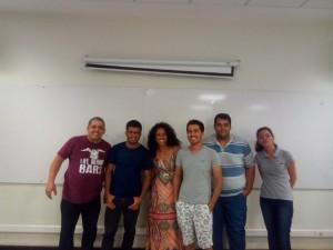 Professor Danilo e alunos OUTUBRO 2019