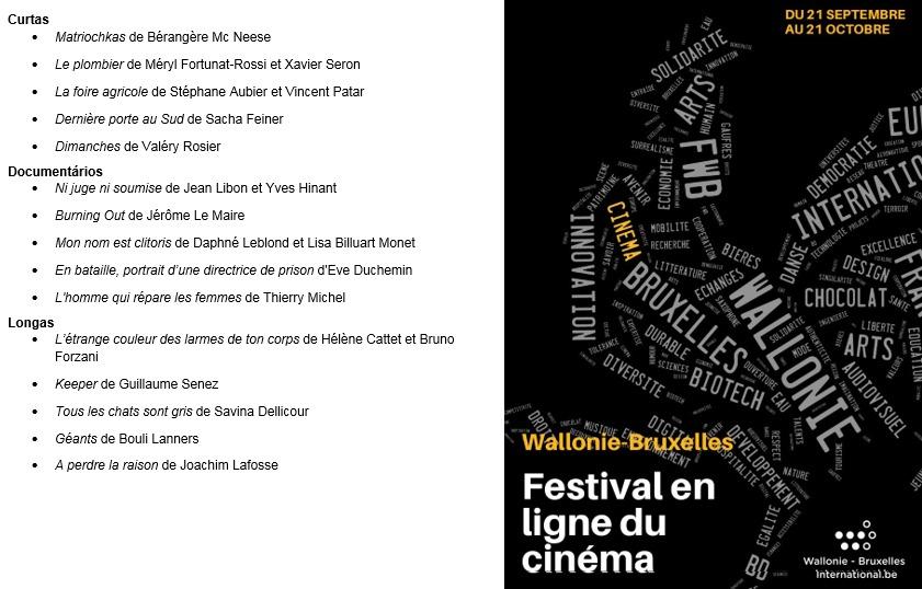 Festival en ligne du cinema